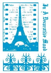Paper Artsy - Cling Mounted Rubber Stamp Sets - Wrought Iron 3