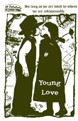 Paper Artsy - Cling Mounted Rubber Stamp Sets - Young Love 2