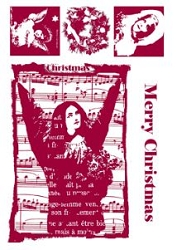 Paper Artsy - Cling Mounted Rubber Stamp Sets - Yule Tide 4