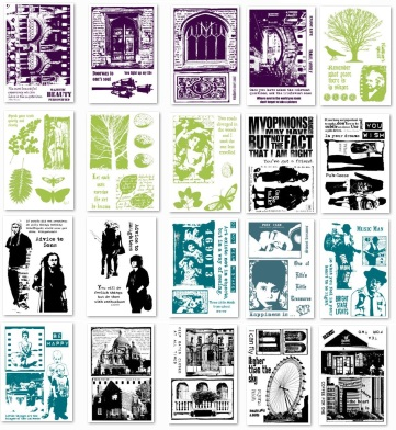 Cling Stamps - Urban Snapshots