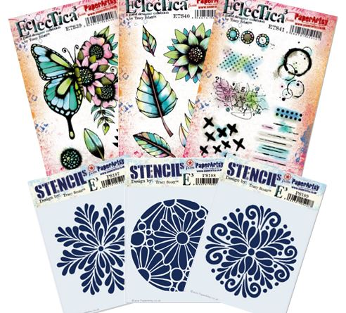 Paper Artsy - April Tracy Scott Stamps and Stencils
