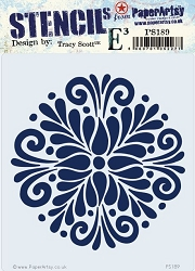 Paper Artsy - Stencil - {ETS} 189 by Tracy Scott
