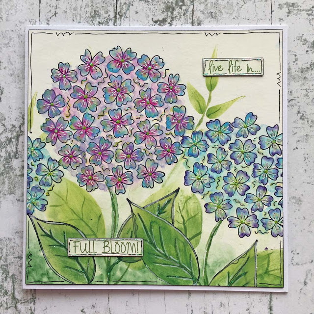 Paper Artsy - Kay Carley new flower Stamps & Stencils