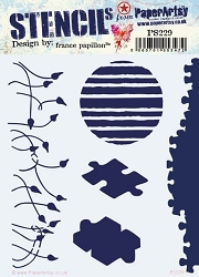 Paper Artsy - Stencil - {FP} 229 by France Papillon