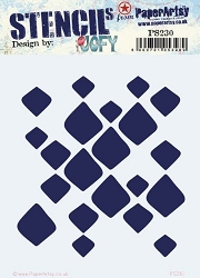 **PRE-ORDER** Paper Artsy - Stencil - {JOFY} 230 by JOFY