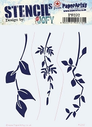 **PRE-ORDER** Paper Artsy - Stencil - {JOFY} 232 by JOFY