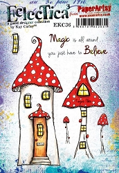 Paper Artsy - Eclectica Cling Mounted Rubber Stamps - Kay Carley 36