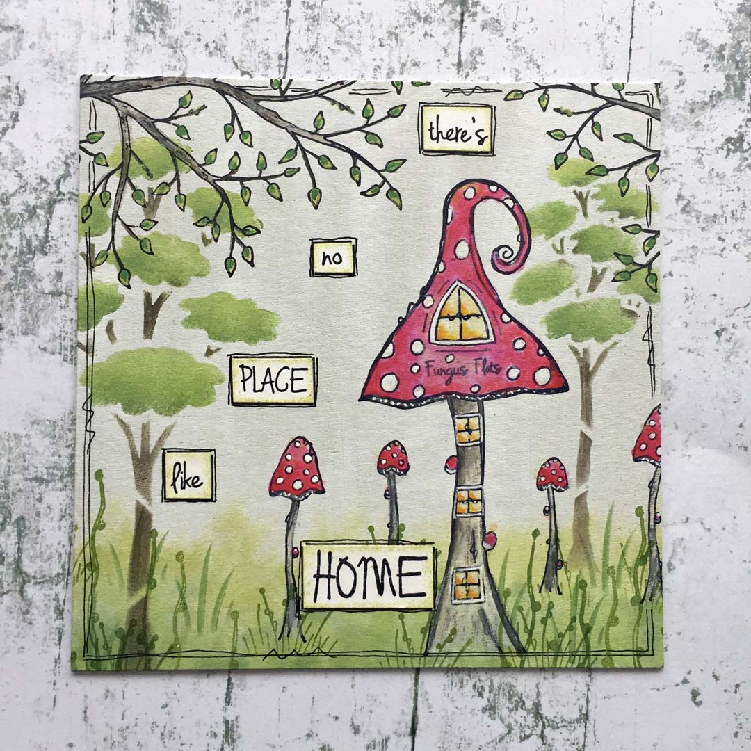 Paper Artsy - Kay Carley new House Stamps & Stencils