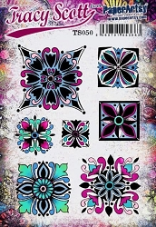 Paper Artsy - Tracy Scott Set 50 Cling Mounted Rubber Stamps
