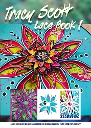 Paper Artsy - Tracy Scott Lace Booklet #1