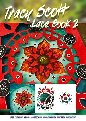 Paper Artsy - Tracy Scott Lace Booklet #2
