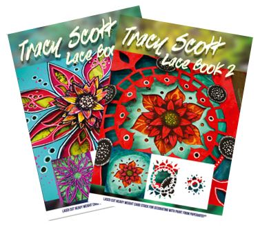 Paper Artsy - Tracy Scott Lace Booklets