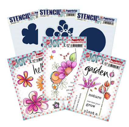 Paper Artsy - July 2020 new JOFY stamps & stencils