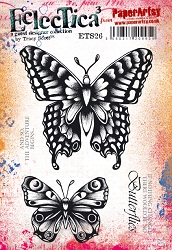 Paper Artsy - Eclectica Cling Mounted Rubber Stamps - Tracy Scott 26