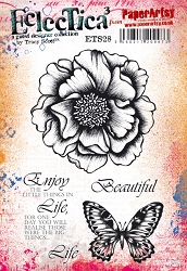 Paper Artsy - Eclectica Cling Mounted Rubber Stamps - Tracy Scott 28