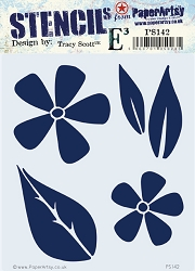 Paper Artsy - Stencil - {ETS} 142 by Tracy Scott