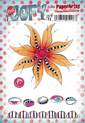 Paper Artsy - JOFY Cling Mounted Rubber Stamps - Large set 78