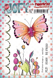 Paper Artsy - JOFY Cling Mounted Rubber Stamps - Large set 79