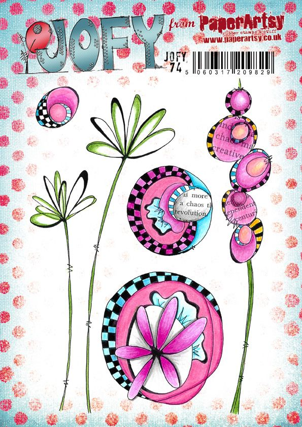 Paper Artsy - New March JOFY stamps & stencils