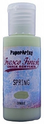Paper Artsy - Fresco Finish Acrylic Paints - Spring (opaque)