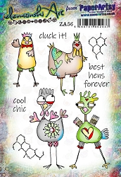 Paper Artsy - Elenazinski Art Cling Mounted Rubber Stamps - Elenazinski Art 56