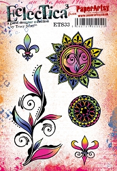Paper Artsy - Eclectica Cling Mounted Rubber Stamps - Tracy Scott 33