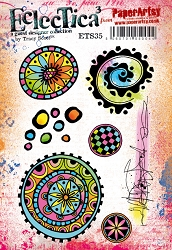 Paper Artsy - Eclectica Cling Mounted Rubber Stamps - Tracy Scott 35