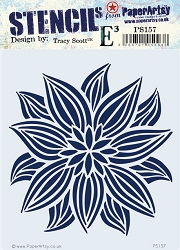 Paper Artsy - Stencil - {ETS} 157 by Tracy Scott