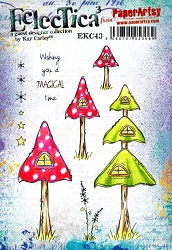 Paper Artsy - Eclectica Cling Mounted Rubber Stamps - Kay Carley 43