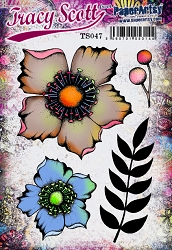 Paper Artsy - Tracy Scott Set 47 Cling Mounted Rubber Stamps