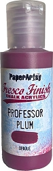 Paper Artsy - Fresco Finish Acrylic Paints - Professor Plum (opaque)