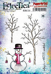 Paper Artsy - Eclectica Cling Mounted Rubber Stamps - Kay Carley 31