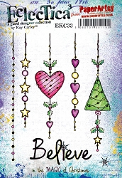 Paper Artsy - Eclectica Cling Mounted Rubber Stamps - Kay Carley 33