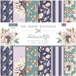 The Paper Boutique - Nature's Gift Collection - 6x6 decorative paper pad