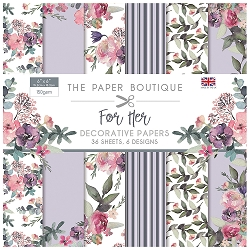 The Paper Boutique - For Her Collection - 6x6 decorative paper pad