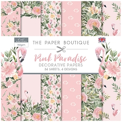 The Paper Boutique - Pink Paradise Collection - 6x6 decorative paper pad