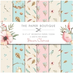 The Paper Boutique - Dawn Chorus Collection - 8x8 decorative paper pad