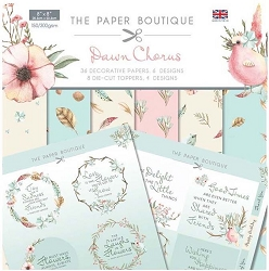 The Paper Boutique - Dawn Chorus Collection - 8x8 paper Kit