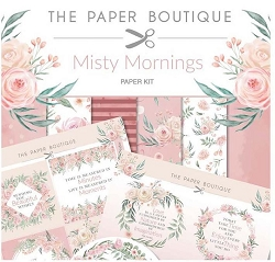 The Paper Boutique - Misty Mornings Collection - 8x8 paper Kit