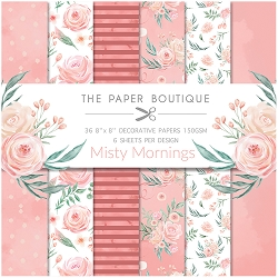 The Paper Boutique - Misty Mornings Collection - 8x8 decorative paper pad