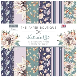 The Paper Boutique - Nature's Gift Collection - 8x8 decorative paper pad
