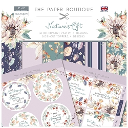 The Paper Boutique - Nature's Gift Collection - 8x8 paper Kit