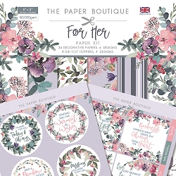 The Paper Boutique - For Her Collection - 8x8 paper Kit