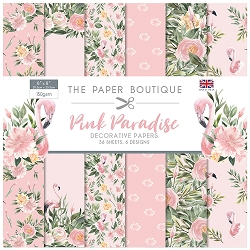 The Paper Boutique - Pink Paradise Collection - 8x8 decorative paper pad