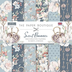 The Paper Boutique - For Him Collection - 8x8 decorative paper pad