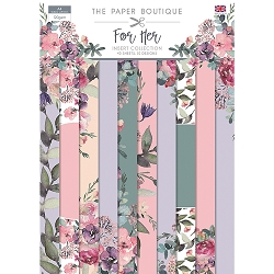 The Paper Boutique - For Her Collection - A4 Insert Collection