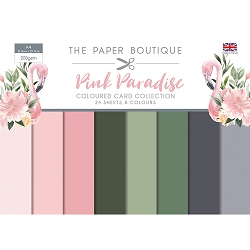 The Paper Boutique - Pink Paradise Collection - A4 Coloured Card Collection