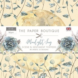 The Paper Boutique - Moonlight Song Collection - 5x5 Scene & Sentiment Toppers