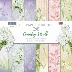 The Paper Boutique - Country Stroll Collection - 6x6 decorative paper pad