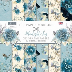 The Paper Boutique - Moonlight Song Collection - 6x6 decorative paper pad